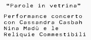 """Nel Laboratorio di Sara Rotta Loria, a Milano in Via Pastrengo 5a (quartiere Isola), Sara e Paola presentano la nuova collezione RAPA primavera-estate2014 con una serata dedicata alla performance/concerto """"Parole […]"""